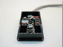 断裁専用のスイッチ